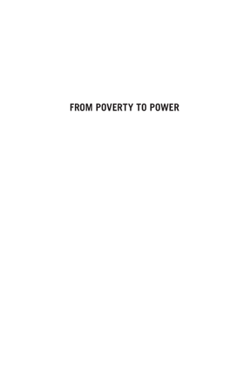 From Poverty to Power, 2nd Edition: How active citizens and